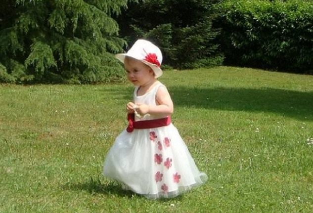 chapeau bapteme fille