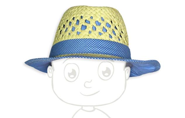 chapeau pour bébé durant l'été