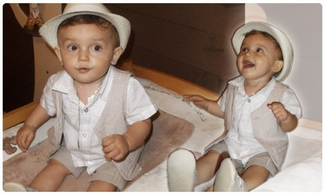 chapeau bebe bapteme