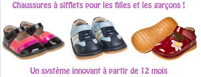 chaussures bebe sifflet